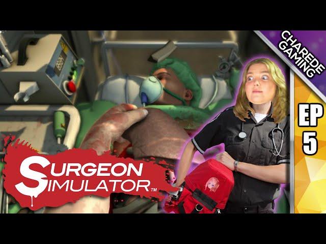 Surgeon Simulator - Ambulance Kidney Transplant Conundrum
