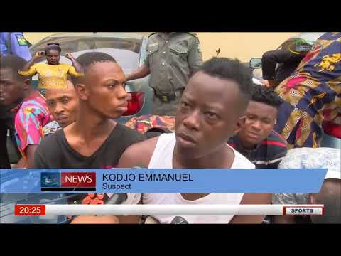 Police Parade Suspected Homosexuals And Armed Robbers