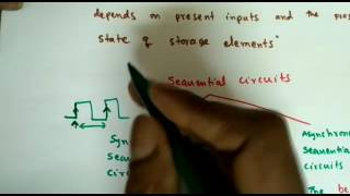 Digital Circuits Lecture-49: Introduction to Sequential Circuits