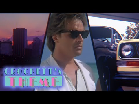 Jan Hammer - Crockett's Theme (HD Music Video)
