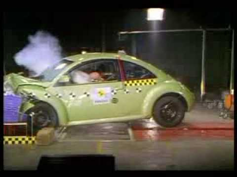 Crash Test Volkswagen New Bettle