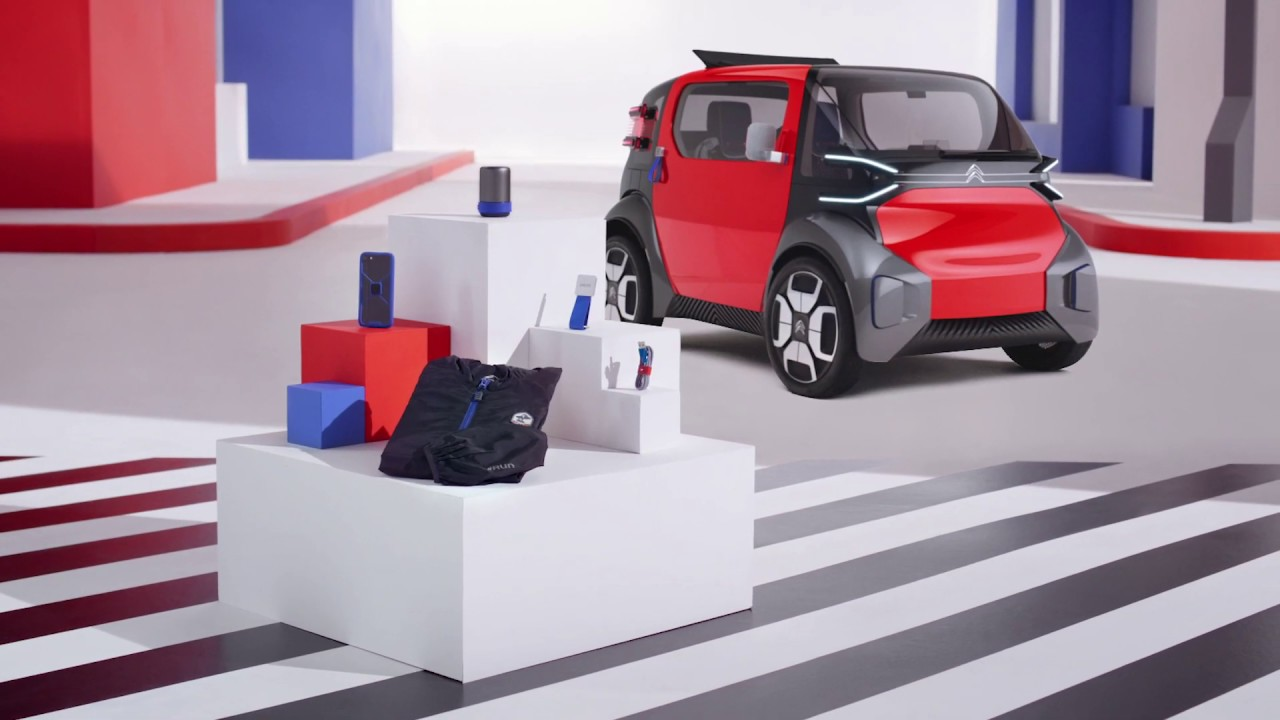Ami One Concept - Produits dérivés en édition spéciale par Citroën