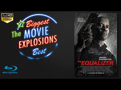The Best Movie explosions: The Equalizer (2014) Harbour explosion