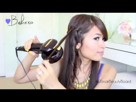 Conair Beauty Board Member BeBeXo Adds the Perfect Curls With The Conair Curl Secret