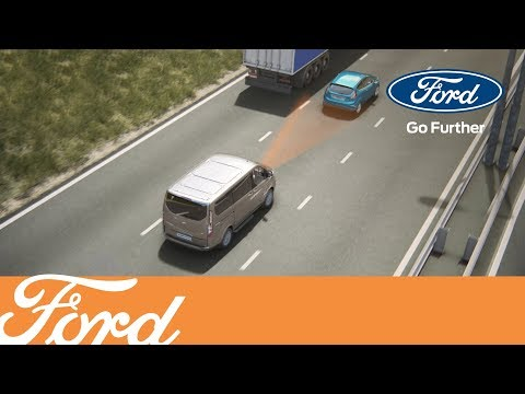 New Ford Tourneo & Transit Custom - Adaptive Cruise Control
