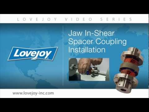 Lovejoy Jaw In-Shear Spacer Style Coupling Installation Video thumbnail