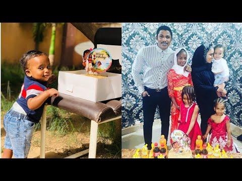 Jarumi Zahradeen Sani Owner da Iyalansa Yayin Murnar Birthday din Dan Karamin Dansa