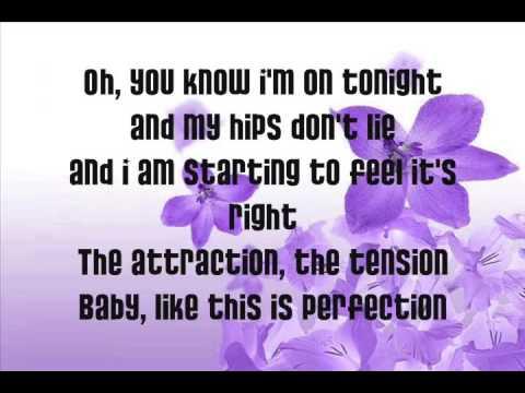 Shakira-Hips Don't Lie lyrics!