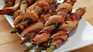 Chicken Asparagus Twists _ Tassty