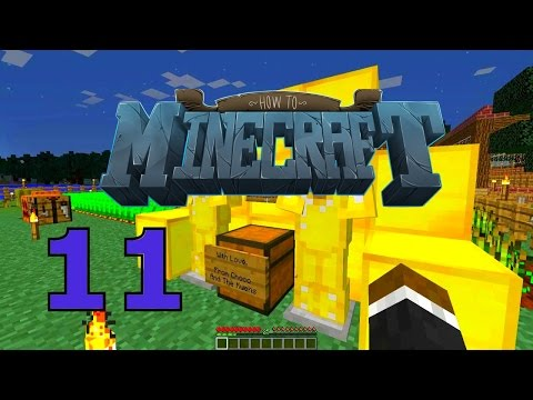 "Minecraft: SMP HOW TO MINECRAFT #11 ""CARE PACKAGE FROM CHOCO"" with JeromeASF"