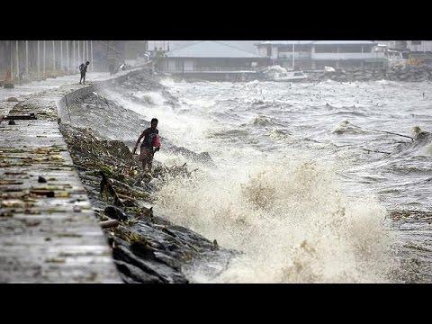 Ο τυφώνας «Κοπού» πλήττει τις Φιλιππίνες