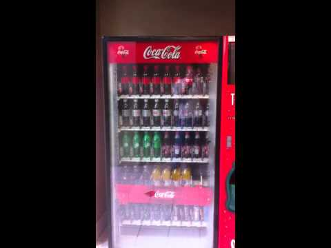 new coca cola machine hack