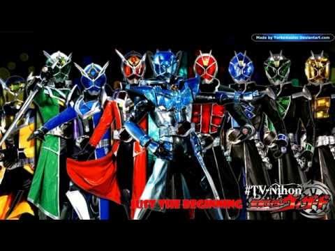 Kamen Rider Wizard(Kamen Rider GIRLS Just the Beginning) (видео)