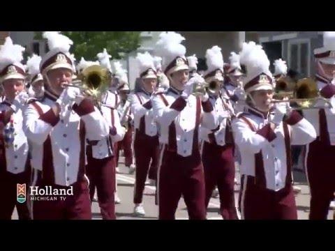 Muziek Parade Tulip Time 2016