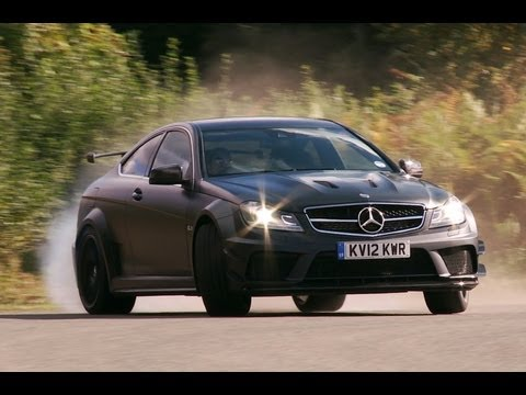 The Wild Mercedes C63 AMG Black Series In Action