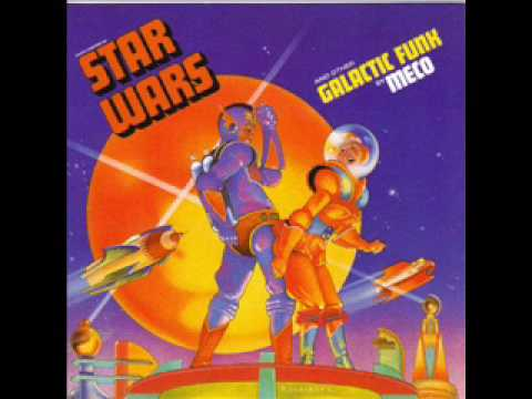 A Funky Disco Version of the Original Star Wars Main Theme Song From