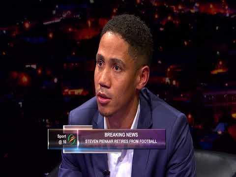 Thomas Mlambo chats to football legend Steven Pienaar