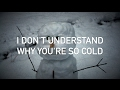 Maroon 5 - Cold (feat. Future, with lyrics)