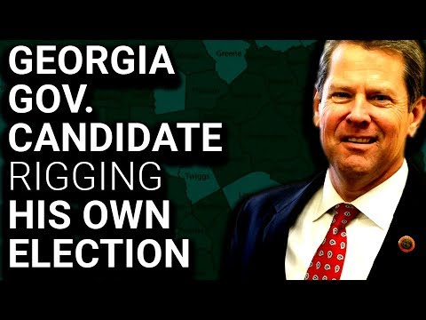 Georgia Republican is Rigging His Own Election