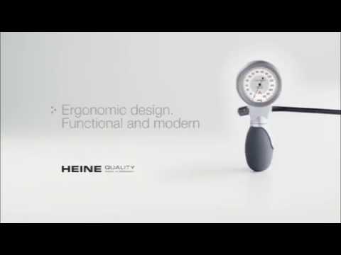 Sfigmomanometro Heine G7 Misuratore pressione Manometro aneroide Bracciale ABP