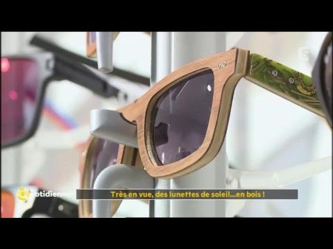 Très en vue, des lunettes de soleil... en bois ! - La Quotidienne