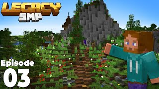 LegacySMP 1 : Episode 3 : Our FIRST Terraforming Project on the server!