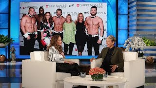 Video Leah Remini's Mom Got a Little Too Handsy at Chippendales MP3, 3GP, MP4, WEBM, AVI, FLV Desember 2018