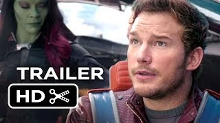 Guardians Of The Galaxy Official Trailer #2 (2014) - Chris Pratt Marvel Movie HD