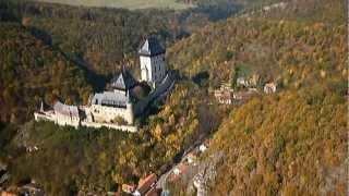 Karlstejn Czech Republic  city photos : RC on-board video Castle Karlštejn , Czech republic