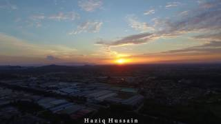 Some aerial footage while I`m at Kedah.a Little bit of paddy field and hometown view.music by audionautix.com