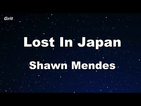 Lost In Japan - Shawn Mendes Karaoke 【No Guide Melody】 Instrumental