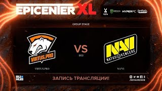 Virtus.pro vs Na'Vi, EPICENTER XL, game 1 [Maelstorm, Jam]