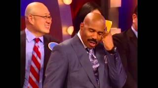 Some of Steve Harvey's funniest moments as the host of Family Feud.