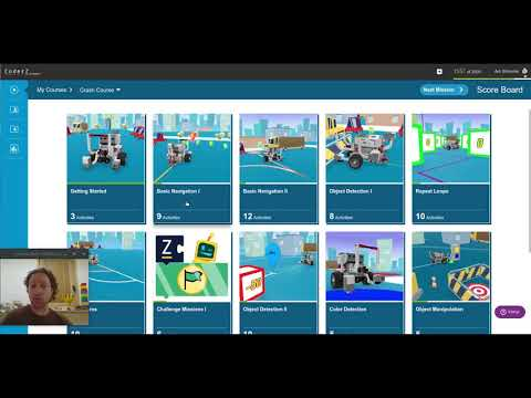 CoderZ Learning Center overview