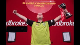 "Michael van Gerwen on ending the drought at Players Championship Finals: ""I've had to come from far"""