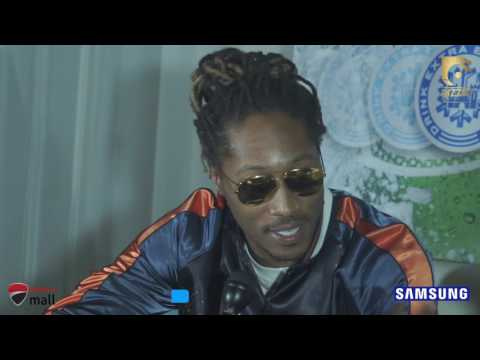 Future talks about African hip hop and working with Wizkid