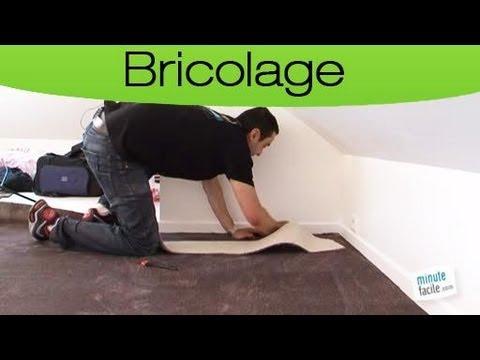 comment poser moquette escalier