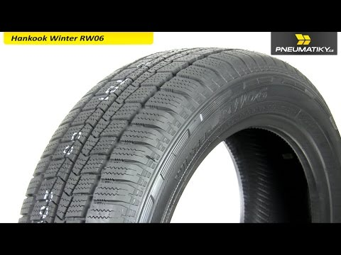 Youtube Hankook Winter RW06 185/75 R16 C 104/102 R Zimní