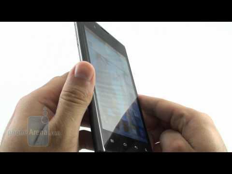 LG Optimus Vu 實機測試影片