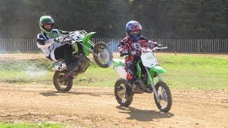 8. New Kawasaki KX65 and a surprise from Lee Bowers for Lottie Trenchard