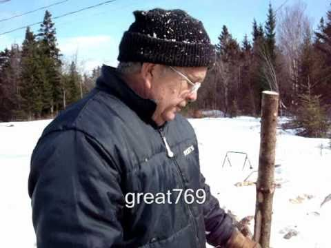 The FASTEST Way To Cut Firewood!!