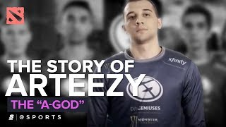 "The Story of Arteezy: The ""A-God"" (Dota 2)"