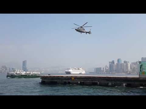 Когда частота кадров видеокамеры совпадает с вращением лопастей вертолёта