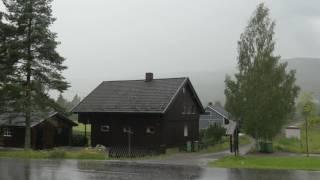 Звуки грозы для сна и релаксации | Гроза и дождь | HD видео природы
