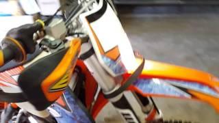 10. 2013 KTM 300 xcw after complete rebuild