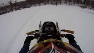 8. Go Pro Ski Doo REV 600x ho in 18'' of Powder