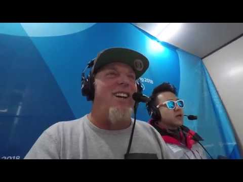 Olympic Winter Games Behind The Scenes with Brad Jay Shaun White's Gold Medal Call (видео)