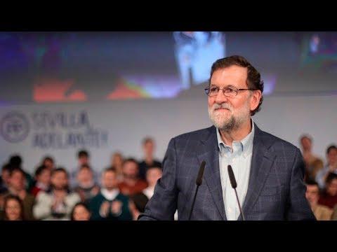 """Rajoy: """"Permitir que alguien sea investido presidente de la Generalitat viviendo en Bruselas es ilegal"""""""