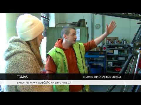 TV Brno 1: 31.10.2017 Přípravy silničářů na zimu finišují