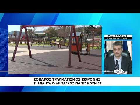 Video - Σοβαρή η κατάσταση της 13χρονης μαθήτριας που έπεσε από κούνια σε σχολική εκδρομή στην Ορεστιάδα